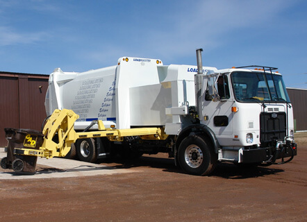 Refuse Side Loader Truck