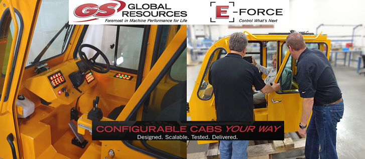 GS Global Resources E-Force Configurable Cabs