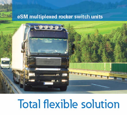 Switch and Indicator Applications   Total Flexible Solution   Multiplexed Master Module (Eaton)