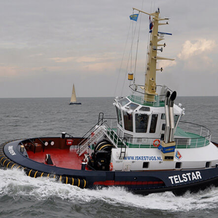 Hybrid Powertrain Improves Tugboat Economy and Maneuverability