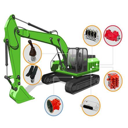 Kawasaki Construction Machinery Excavators