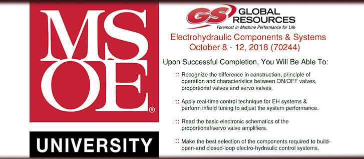 MSOE Electrohydraulic Class 2018 at GSGR