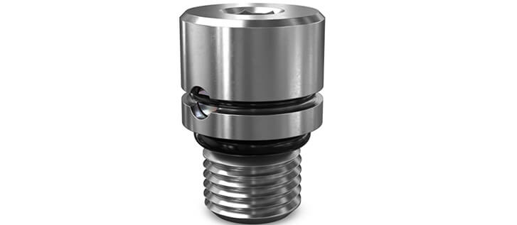 Parker CVH021 check valves used in circuit to isolate pressure signals to flow compensators and load sense lines for pumps