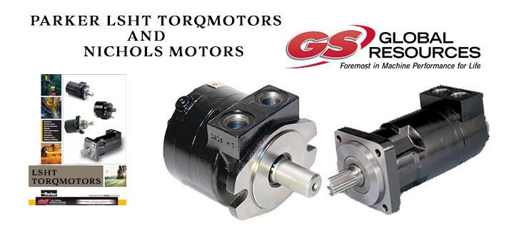 Parker LSHT Torqmotors and Nichols Motors