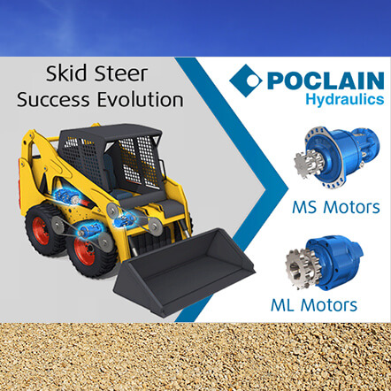 Skid Steer Success Evolution of Poclain Hydraulics