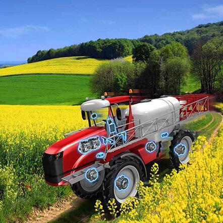 High-Performance Transmission Crop-Sprayers (Poclain Hydraulics)