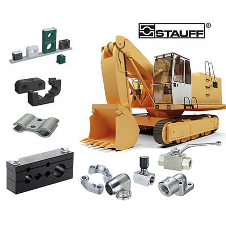 Mobile Construction Machinery | Pipework Equipment and Hydraulic Components (STAUFF)