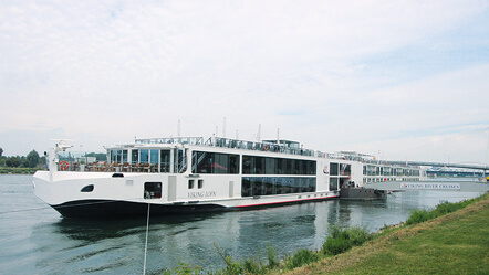Liquid Cooled Drive Provides Quiet and Clean River Cruising (VACON NXP)